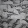 Кирпичный скол серый мрамор